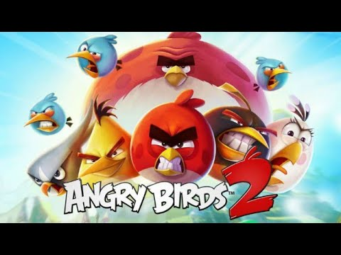 angry birds 2- game play walkthrough part 1- level 1-5 3 stars