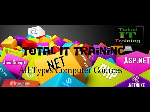 Total IT Training Courses Introduction for Beginners in   English