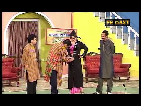Chikni Iftikhar Thakur New Pakistani Stage Drama Full Comedy Funny Play