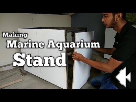 Making Aquarium stand for Marine Aquarium