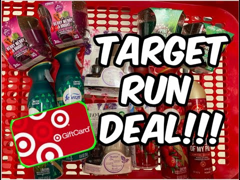 🎯 TARGET RUN DEAL 11/1-11/7 | Spend $40 get a $10 Gift Card 🏃🏼‍♀️🔥