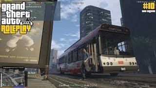 Jadi Supir Bus Duitnya Lumayan (10) - GTA 5 ROLEPLAY