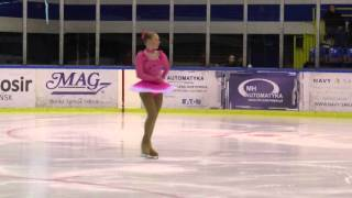 15 Zara ANTHONY WHIGHAM NZL FS Basic Novice B Girls ISU WDT 2016 Gdansk