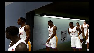 College Hoops 2K5 LSU NCAA Tournament part 1