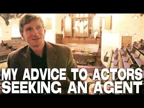 Advice To Actors Seeking An Agent by Bill Oberst Jr.