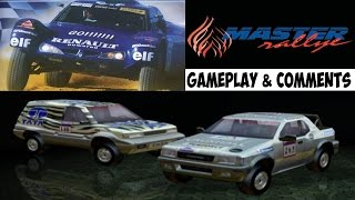 Master Rallye Gameplay PS2 HD