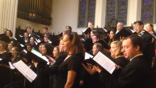 Chicago Chamber Choir Performs Fengyang Song, a Chinese folk song!