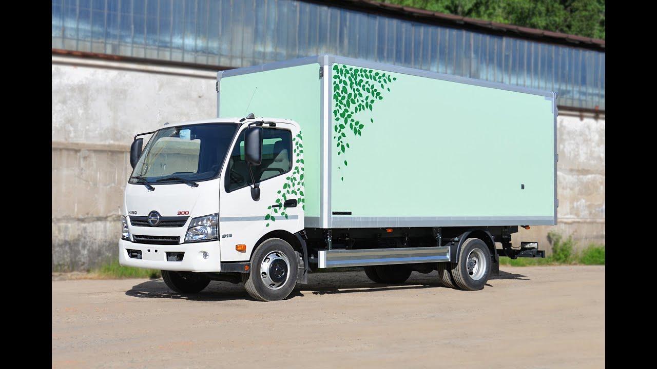 Hino 300 series малотоннажные грузовики серии hino-300 представлены модельным рядом автомобилей с грузоподъемностью шасси 5 тонн,