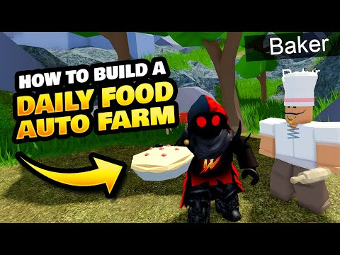 How to Make an Auto Daily Food Farm on Roblox Islands