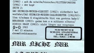 Berserker - Gedan Ken Am Schluess Elbrett ( Harsh Noise / experimental 1983)