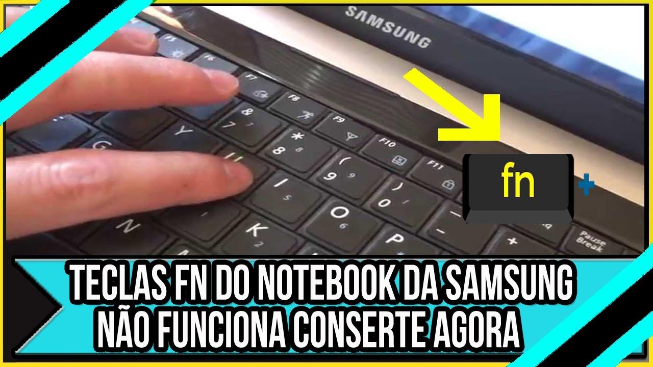 Notebook samsung desativar tecla fn - Teclas Fn Do Notebook Da Samsung N O Funciona