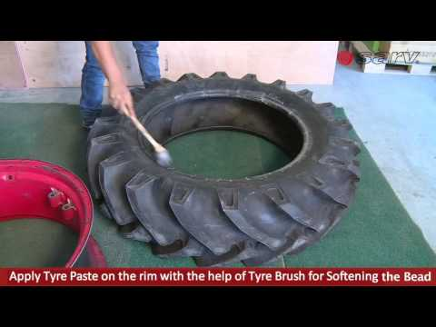 MRF Tractor Tyre Mount Demount With Special Tools