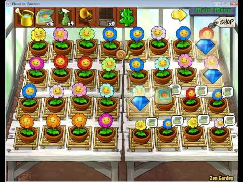 Plants Vs. Zombies Zen Garden $128,000