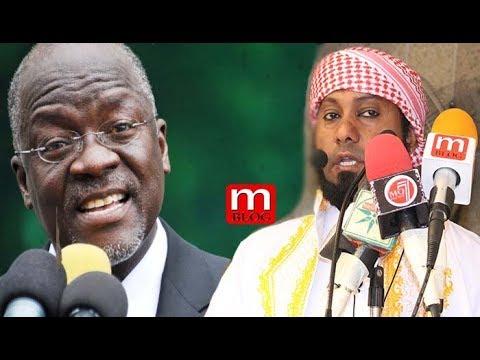 Rais Magufuli amwagiwa sifa na Sheikh Kishki