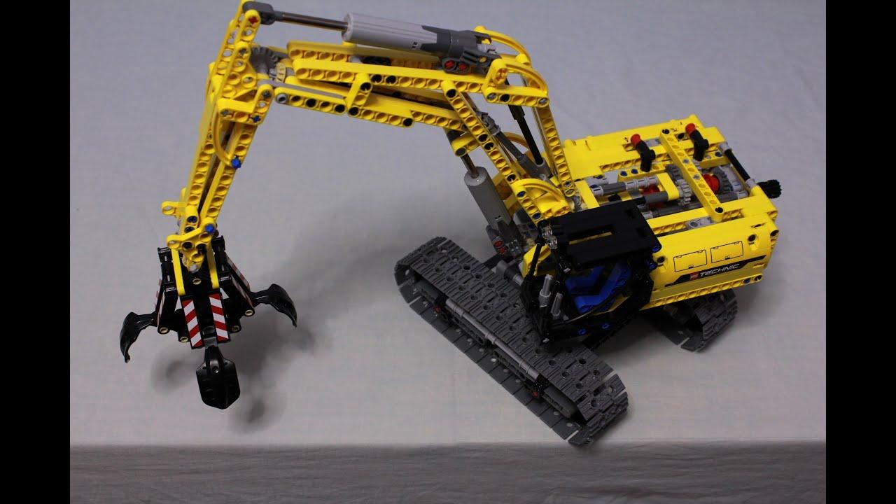 LEGO Excavator Instructions 42006, Technic