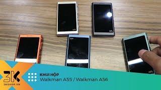 Unboxing Sony Walkman NW-A55 và NW-A56 | Máy nghe nhạc mới nhất với tính năng làm bluetooth receiver