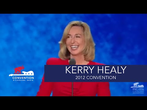 America Believes in Mitt Romney | Lt. Governor Kerry Healy | 2012 Republican National Convention