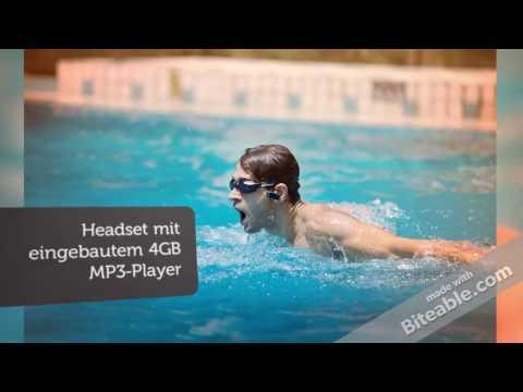 Schwimmen MP3-Player Unterwasserwasserdicht Deutschland   Beste Headset MP3 Player