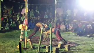 Impossible Indian Street Circus || Amazing Street Magic Show || Ring With Men ||