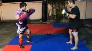 Hippo Muay Thai Training 18 Oct 2011 Rd1.