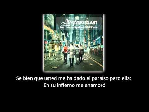 Aventura - Yo Quisiera Amarla (lyric - letra)