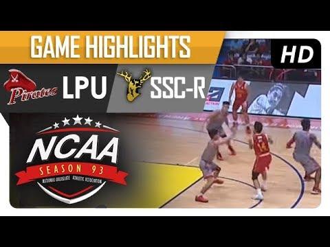 LPU vs. SSC-R | NCAA 93 | MB Game Highlights | September 29, 2017