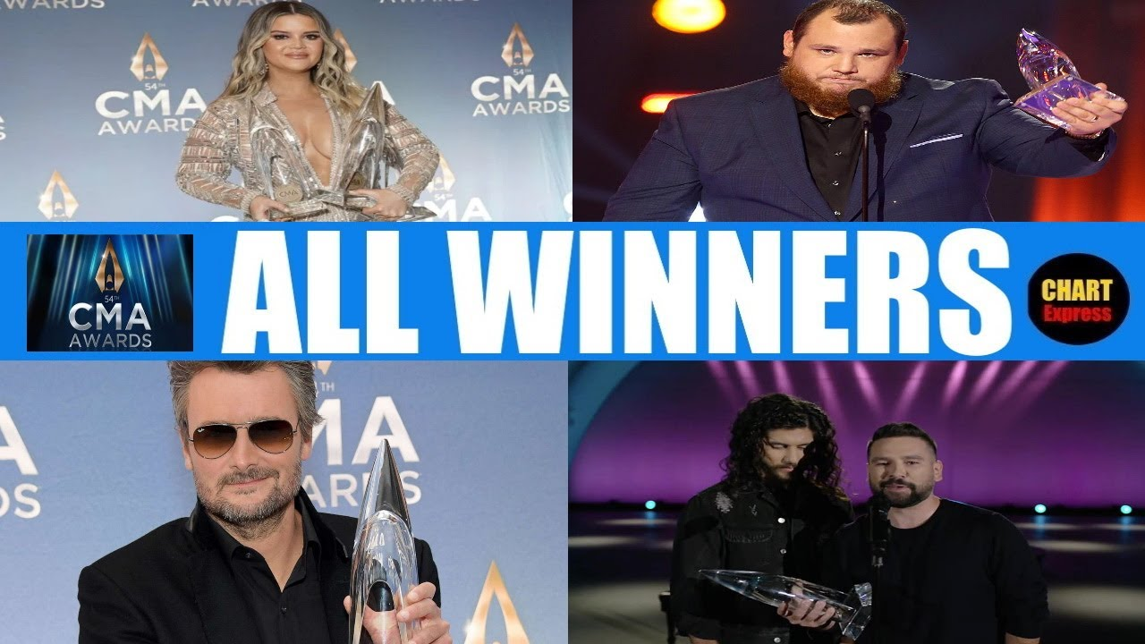 CMA Country Music Awards 2020 - ALL WINNERS | Country Music Associaton Awards 2020 | ChartExpress