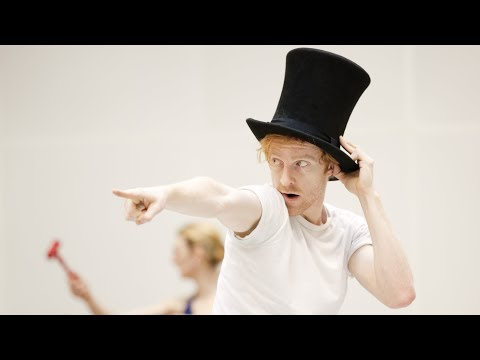 Becoming The Mad Hatter: Steven McRae on Alice