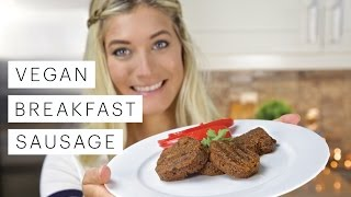 Vegan Recipe: Breakfast Sausage | Edgy Veg