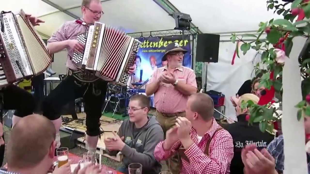 Zillertaler Hochzeitsmarsch - Stimmung im Festzelt in der ...