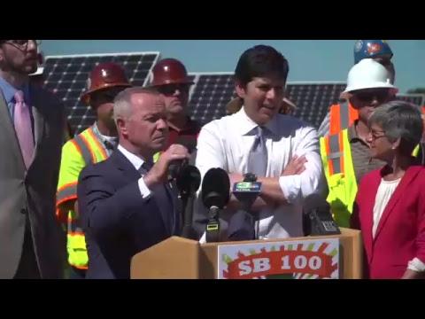 Senate Leader to Introduce 100% Clean Energy Measure