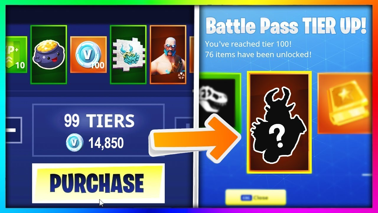 Buying Every Season 5 Battle Pass Tier In Fortnite Battle Royale