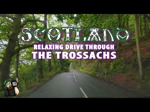 SCOTLAND TRAVEL VLOG!!! - A Relaxing Drive Through The Trossachs.