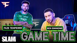 Ben Simmons Shows Off His INSANE House and Plays Call of Duty with FaZe Temperrr 🎮 | SLAM