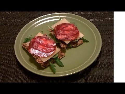 Gluten free crackers (dairy free, vegan) recipe