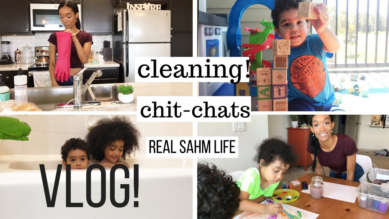 Stay At Home Mom Vlog Weekend Cleaning Routine Stay At Home Mom Routine With Toddlers