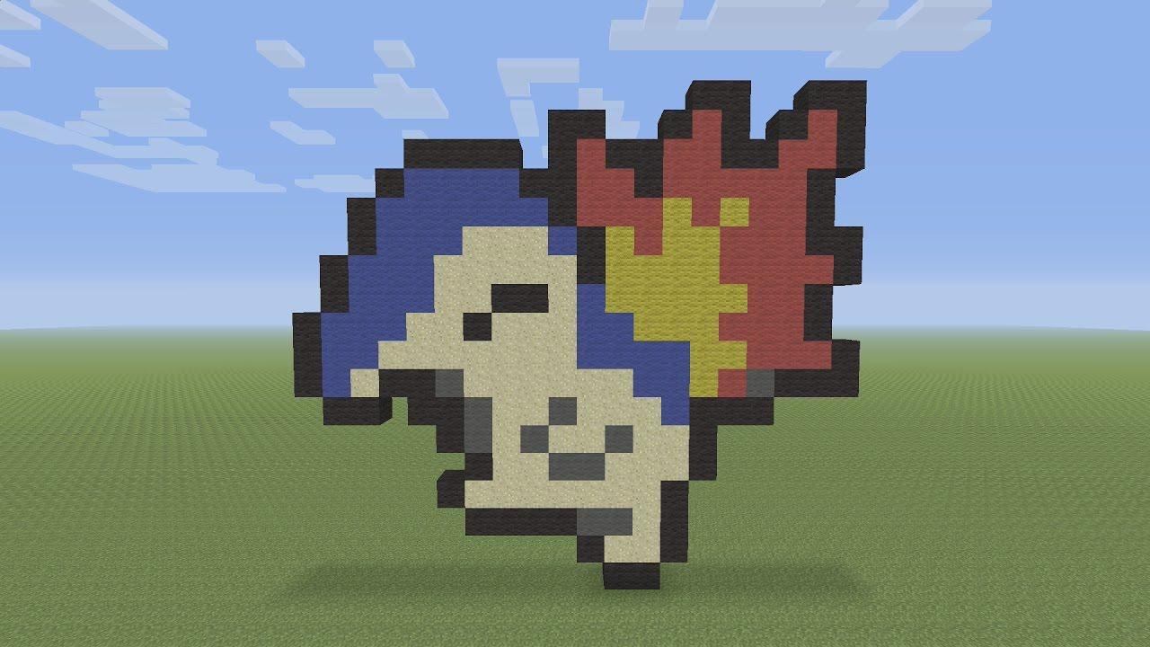 pixel pokemon minecraft cyndaquil build