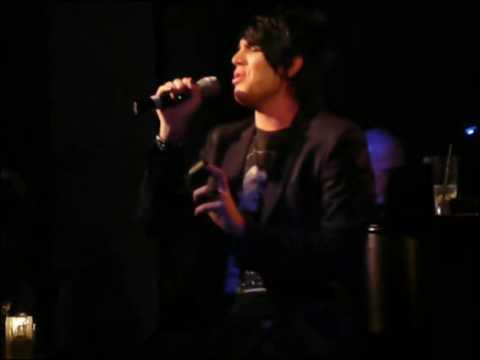 Adam Lambert at Upright Cabaret: I Can't Make You ...