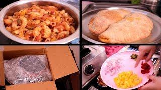 INDIAN LUNCH ROUTINE | INDIAN LUNCH ROUTINE 2018 | Indian Lunch Preparation | Pasta , Calzone