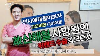 고도비만 다이어트 위밴드수술 故신해철 사망원인 비만수술…