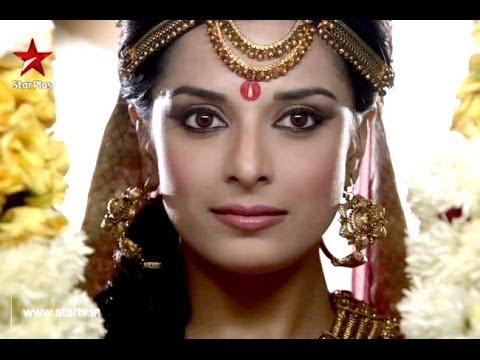 Pooja Sharma Escape An Injury On Mahabhart Set