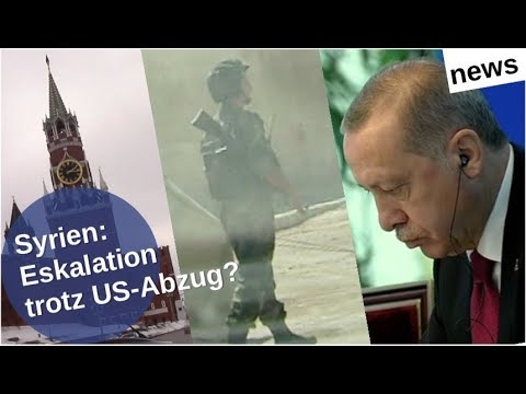 Syrien: Eskalation trotz US-Abzug?