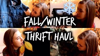 Fall/Winter Mini Thrift Haul Thumbnail