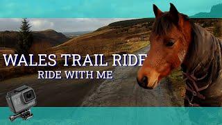Welsh Mountain Trail Ride (GoPro Helmet Cam) - Vlog 62 - Beth Endurance