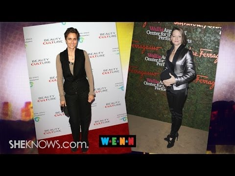 Alexandra Hedison and Jodie Foster: Married! - The Buzz