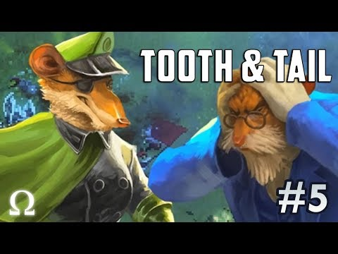 THE ULTIMATE FURBALL TEAM! | Tooth & Tail #5 Gameplay Ft. Sattelizer