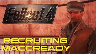 Recruiting MacCready - Fallout 4
