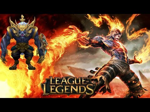 S+ DE BRAND MID FULL AP VS AZIR + SKIN WARWICK GUARDÃO LUNAR! [LEAGUE OF LEGENDS]
