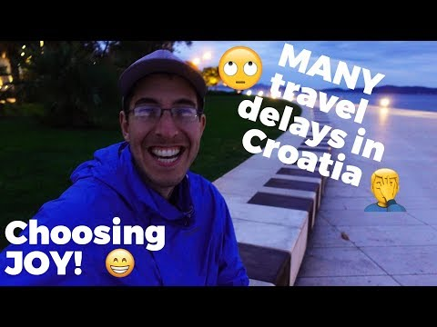 3 cities in Croatia - Zagreb, Zadar & Split - Travel Vlog Day #136