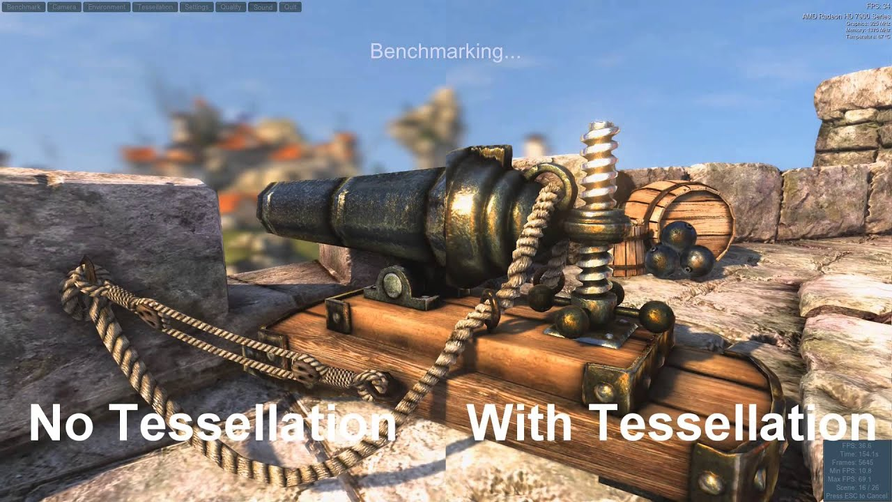 Image result for Tessellation in games